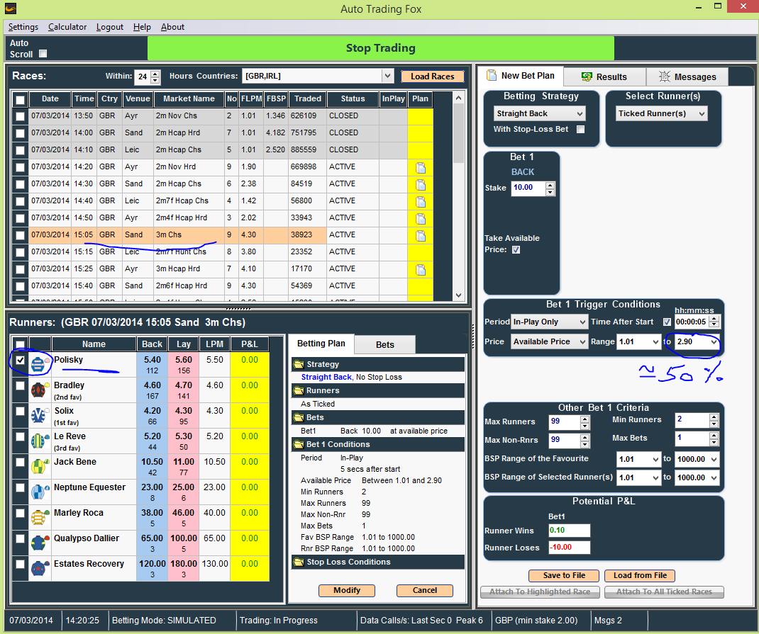 best betfair software