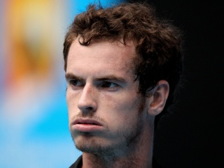 Murray - looking strangely like both members of Flight of the Concordes at once