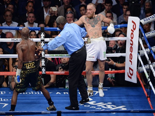 McGregor's a domestic level boxer, at best.