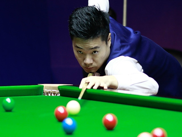 Ding is fancied to step up on his first round performance