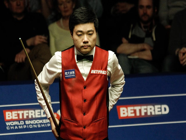 Ding's recent record in London is terrible
