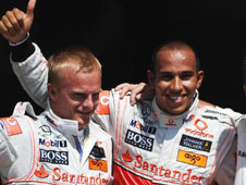 This is a track that suits Lewis Hamilton's driving style as his pole position start demonstrates and he goes into the race as a very short favourite.