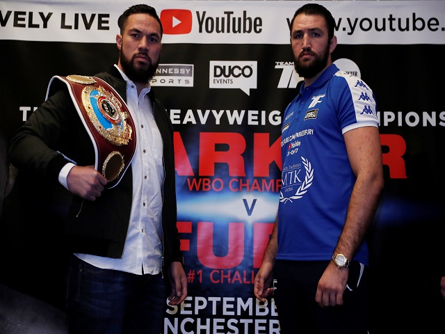 Joseph Parker favourite to inflict Fury's first defeat