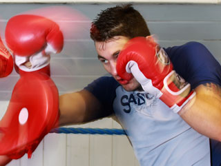 Nathan Cleverly has been working hard to get into top shape ahead of his bout with Tommy Karpency