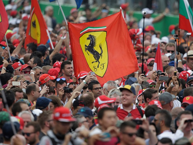 Ferrari's passionate 'Tifosi' are desperate to see a Monza victory