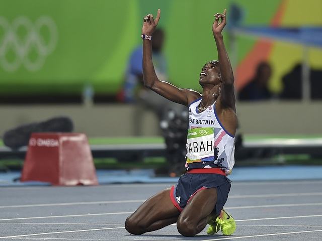 Heavens above - Mo Farah needs more inspiration after winning the 10,000m