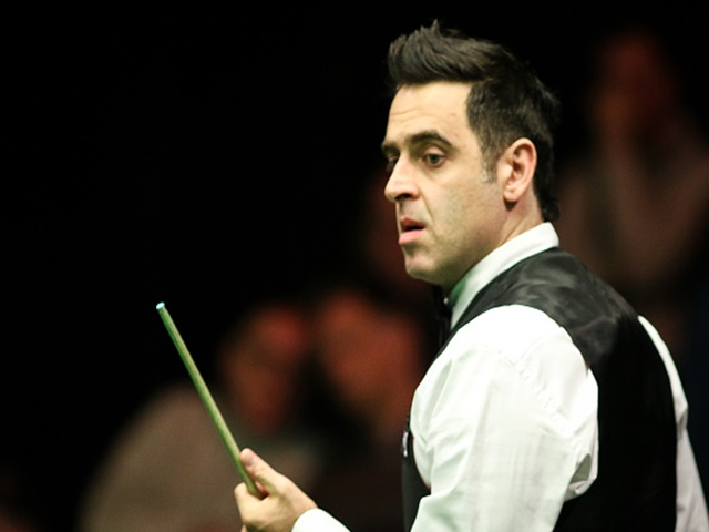 Ronnie looks hungry in search of a sixth world title