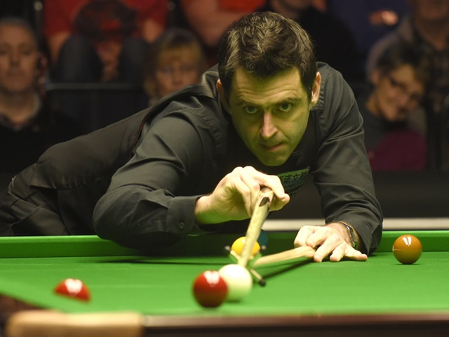 Ronnie is still on course for a record seventh Masters title