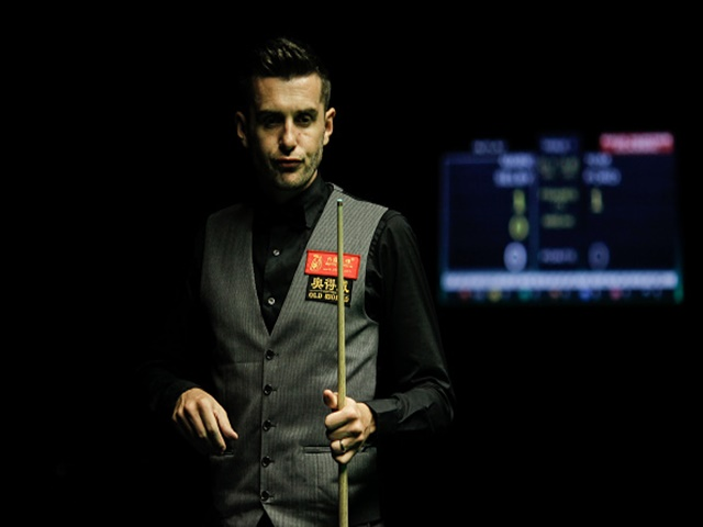 Defending champ Selby faces a harder match than the first round