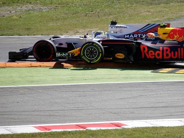 Rash? Max Verstappen and Felipe Massa go wheel to wheel in Monza