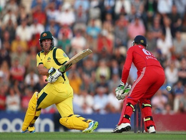 Aaron Finch hit a world record 156 in Southampton