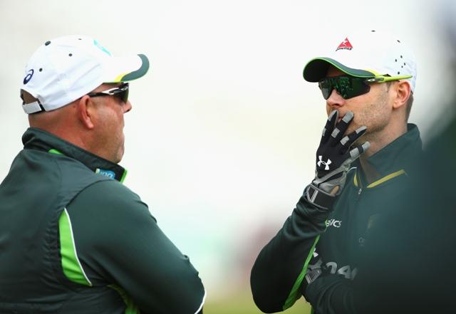 Coach Darren Lehmann and Clarke are under pressure
