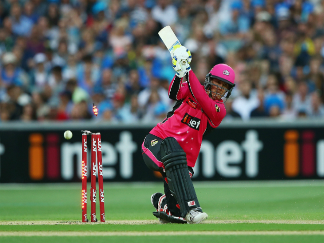 Matt Harris is looking to Nic  Maddinson to get Sydney Sixers over the line in Wednesday's semi final