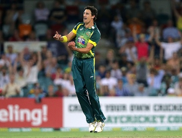 Starc is the dangerman