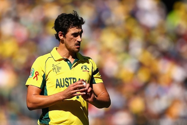 Starc has a stress fracture of the foot