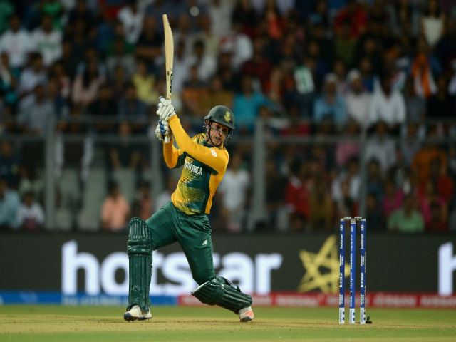 Quinton de Kock has been South Africa's most consistent batsman in this competition