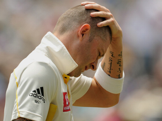 Michael Clarke may lack the mental strength and ruthlesness to perform one