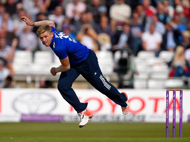Willey's inclusion makes England's bating stronger