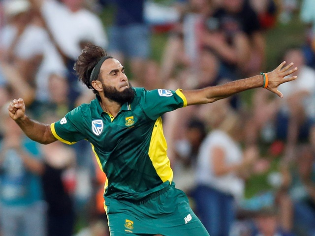 James fancies Imran Tahir could be in line for a Man of the Match performance