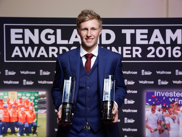 Joe Root can add Top Match Batsman in England v Pakistan to his list of awards.