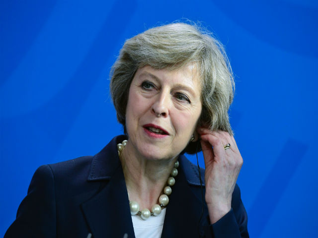 May suggested the Brexit process should begin by the end of March.