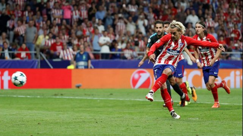 Antoine Griezmann is looking for his third La Liga goal of the campaign