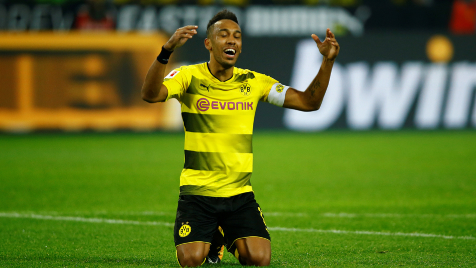 Will Pierre-Emerick Aubameyang be celebrating after Borussia Dortmund's match with APOEL?