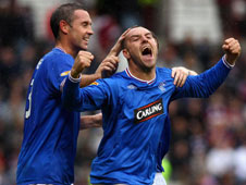 Kris Boyd is as so is normally the case, Rangers' main source of goals this weekend