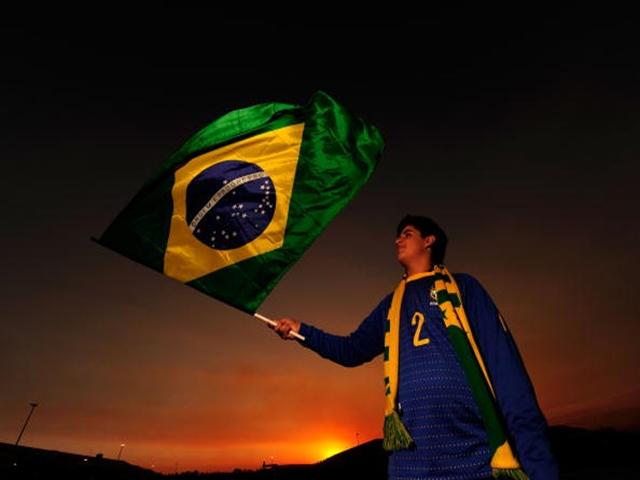 It's second tier Brazilian action tonight