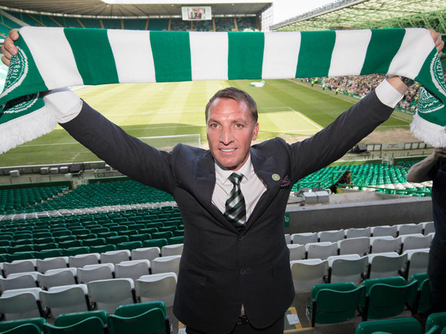 Will Brendan Rodgers still be smiling after Celtic's match with Rangers?