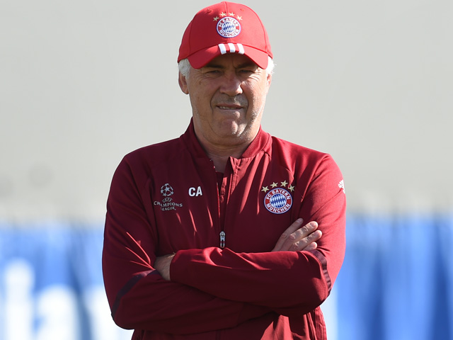Carlo Ancelotti is closing in on his first Bundesliga title