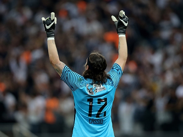 Goalkeeper Cassio has been in fine form for a Corinthians side who have only conceded three home goals this season