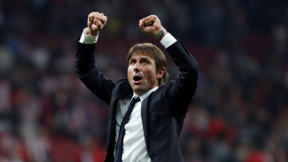 Will Antonio Conte be celebrating after Chelsea's match with Watford?