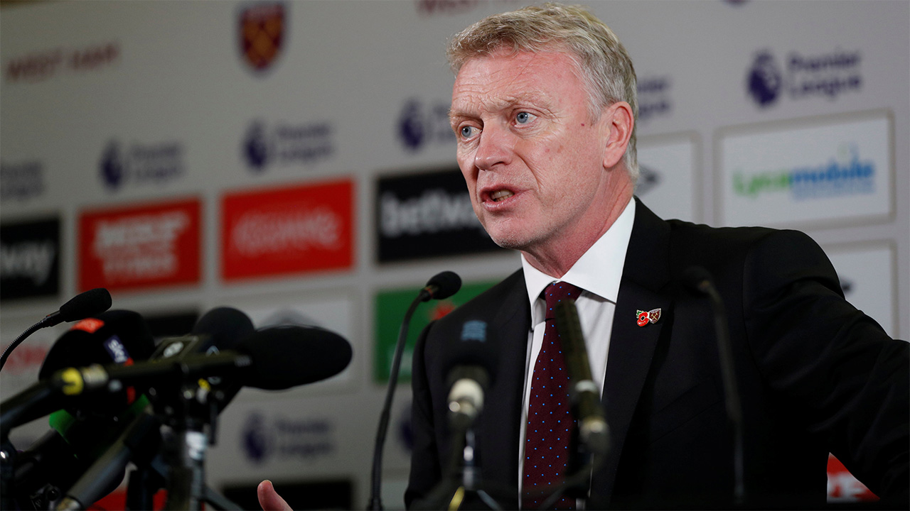 David Moyes' first game in charge of West Ham comes against Watford on Sunday