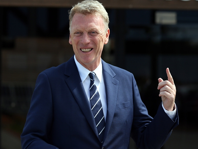 The only way is up for David Moyes
