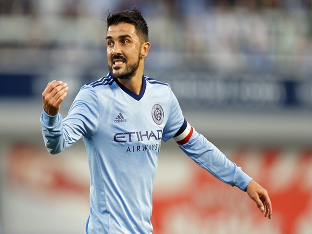 David Villa has scored three in three and 13 in 19 this season