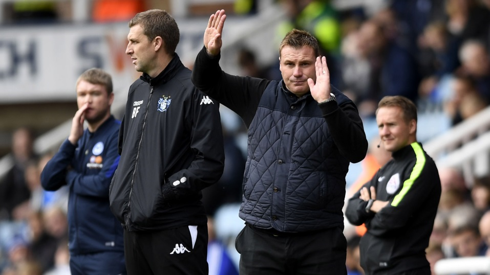 David Flitcroft hopes to shape a good future for Swindon