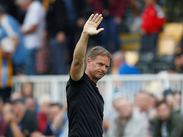 Will Frank De Boer be waving goodbye to Crystal Palace?