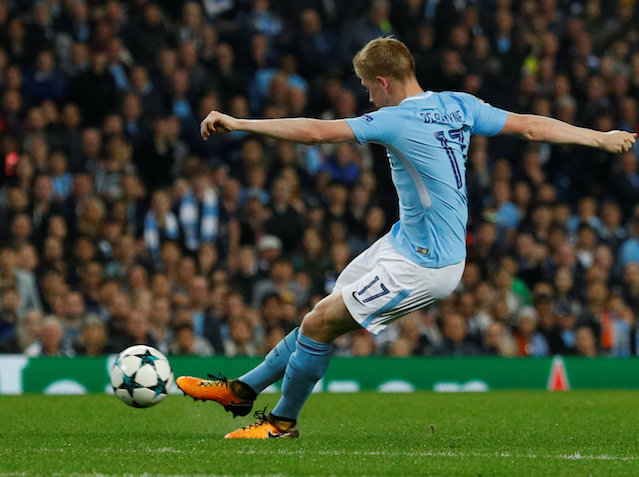 Kevin De Bruyne may drift right to cause his former side problems