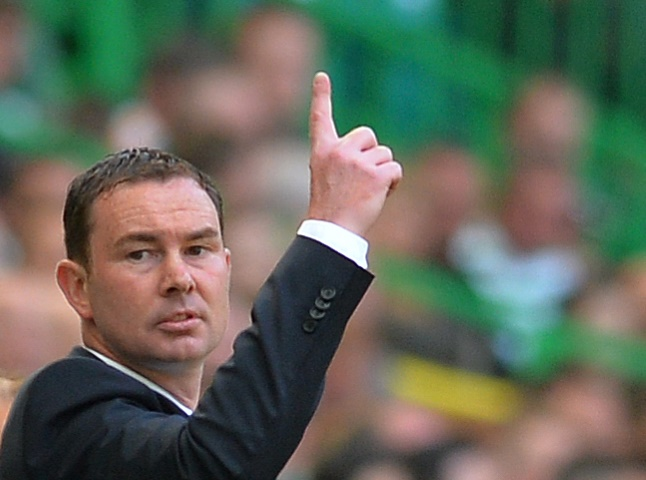 Derek Adams might not be looking this happy come Saturday tea time
