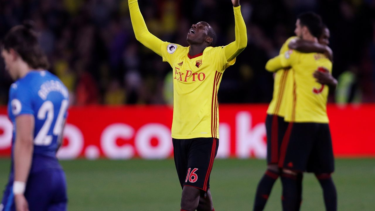 Watford's attacking midfielder Doucoure has been in sparkling form