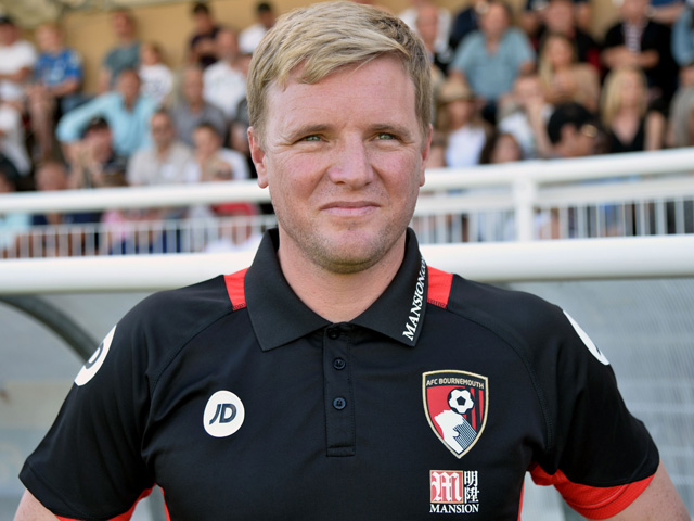 Will Eddie Howe Still be smiling after Bournemouth's match with Swansea?