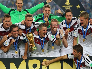 Plenty of German players in the team of the tournament