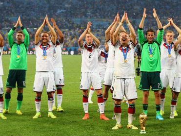 In a week in which Germany were crowned world champions, our tipsters had a strong week