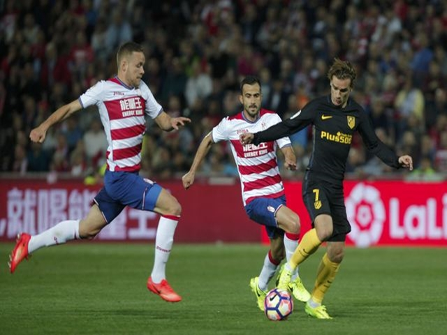 The Granada players are fighting to stay in La Liga