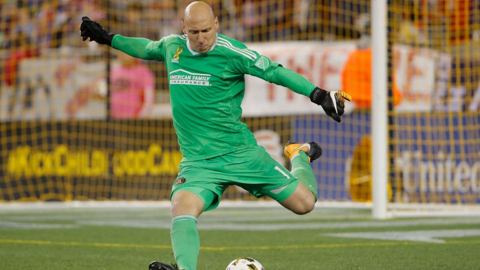 Atlanta United goalkeeper Brad Guzan is bound to be busy again when dealing with Toronto FC