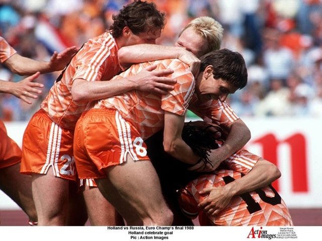The current Dutch crop are a far cry from their Euro 1988 counterparts