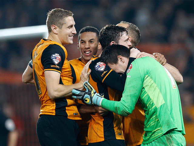 This could be the scene at the end of Hull's match on Saturday.
