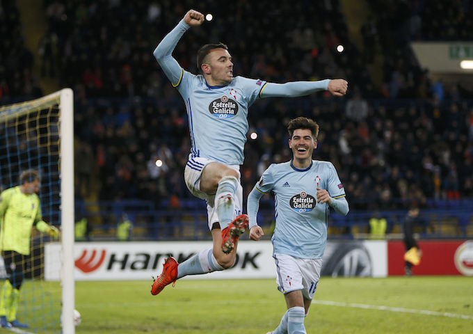 Iago Aspas has rediscovered his touch in front of goal for Celta