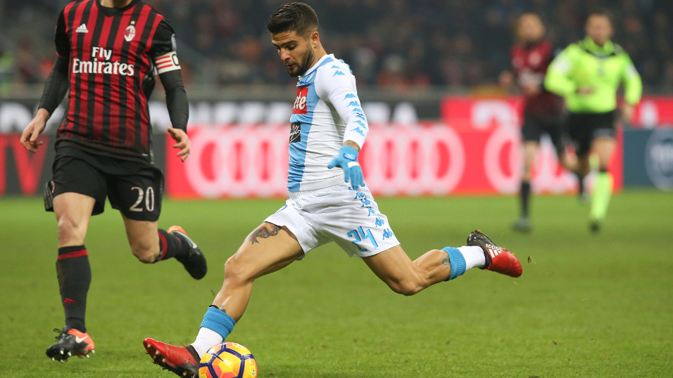 Milan are already Lorenzo Insigne's favourite victims with five goals against them in nine games